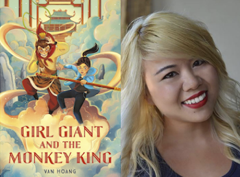 Girl Giant and the Monkey King by Van Hoang